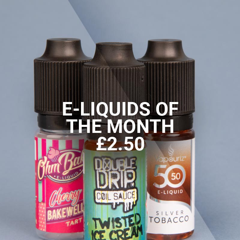 E-liquids of the month at Vapestore - Shop now!