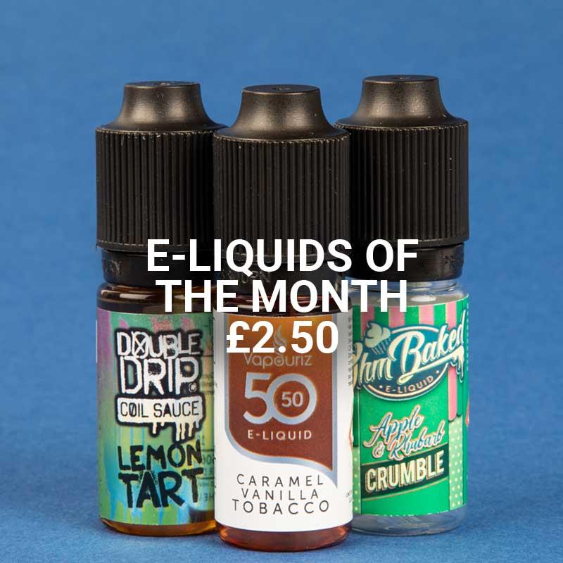 E-liquids of the month at Vapestore - Shop now!