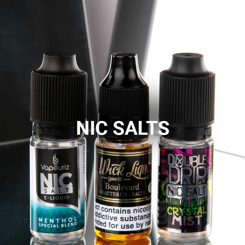 """Nic Salts at Vapestore"