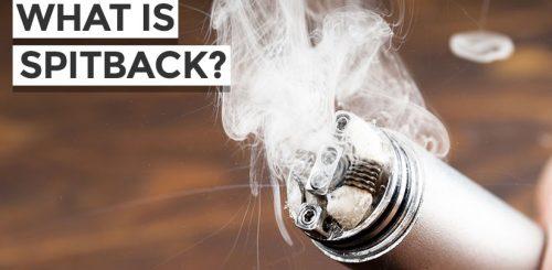 How to Avoid Vape Spitback