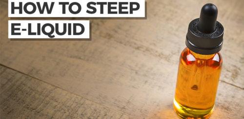 How to steep e-liquid