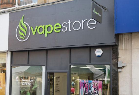 Vapestore Redhill storefront