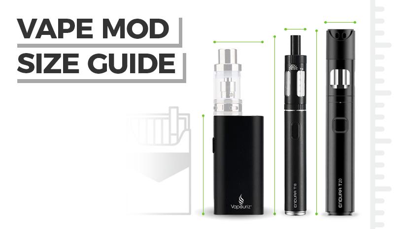 Vape Mod Size Guide