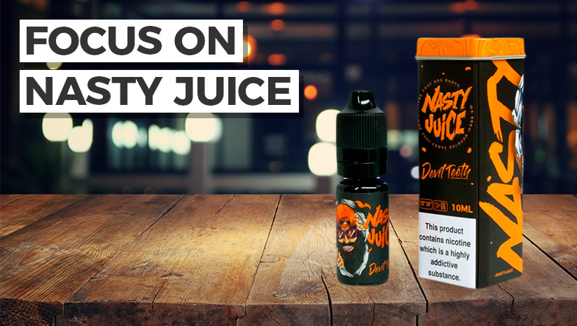 Taste the newest from Nasty Juice