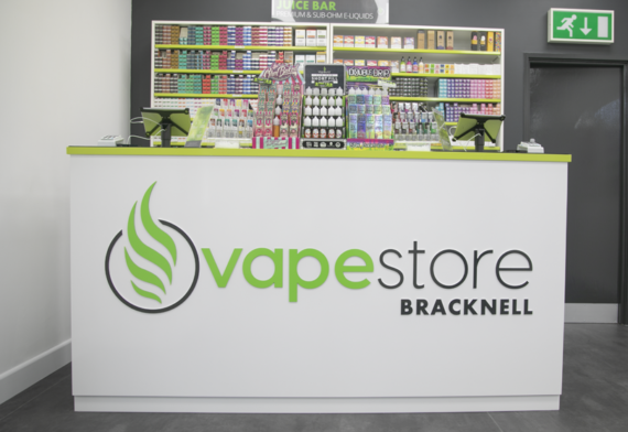 Vapestore Bracknell store interior