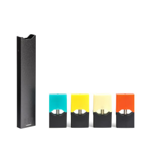 Buy the JUUL Pod Starter Kit e-cigarette plus 4 JUUL pod vape liquid flavours at Vapestore