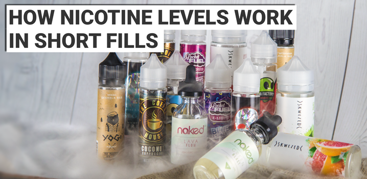 How Nicotine Levels Work In Short Fills
