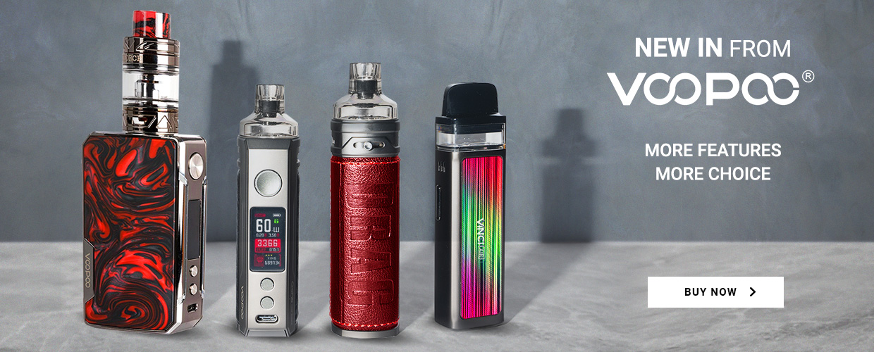 New In from Voopoo. More features. More choice