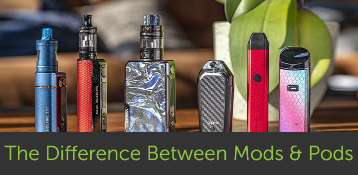 What's the difference between Pods and Mods?