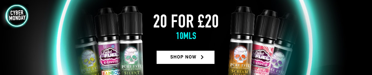 20 for £20 on 10mls