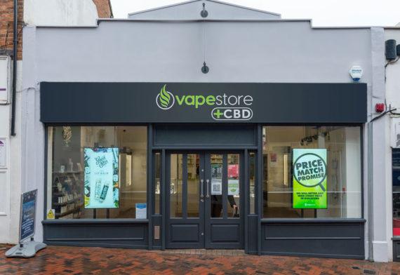 Vapestore Guildford storefront