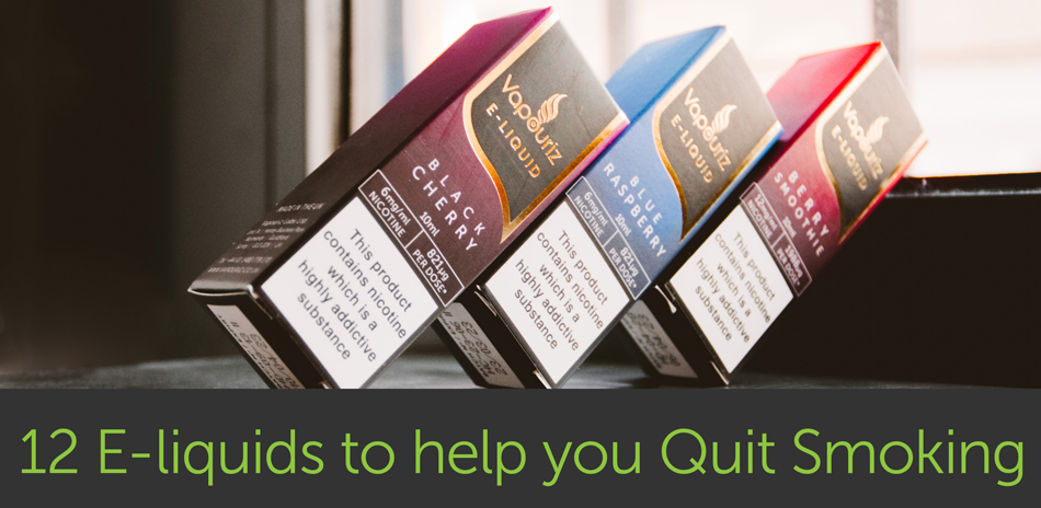 12 E-Liquid Flavours to Help you Quit Smoking