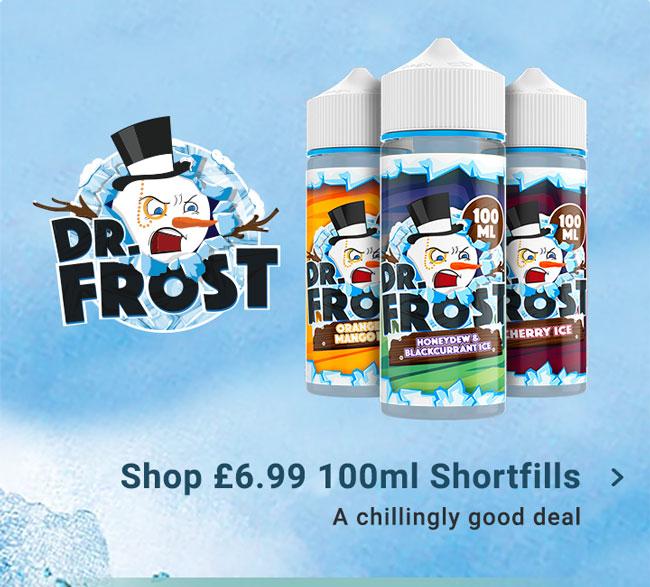 Dr Frost. £6.99 100ml Shortfills