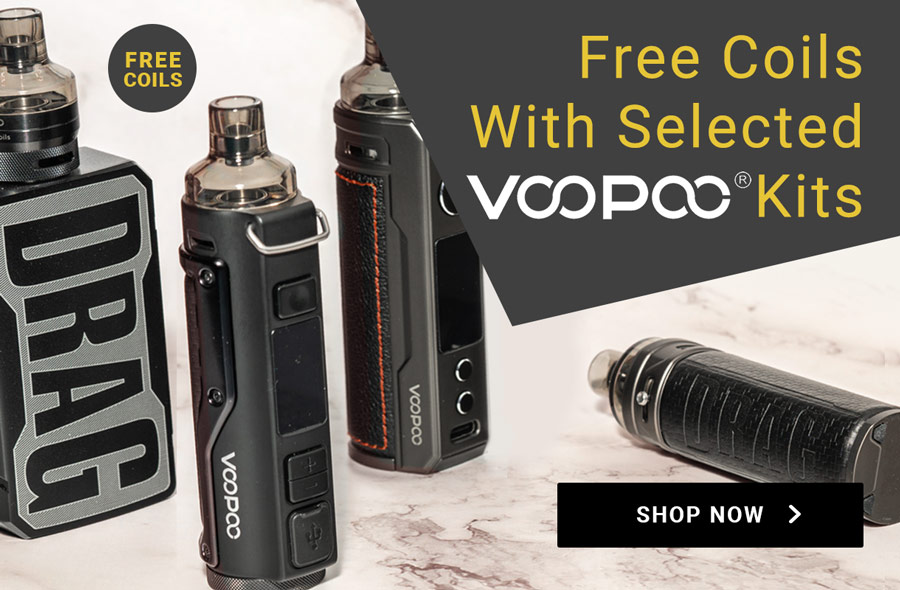 Free coils with selected Voopoo kits