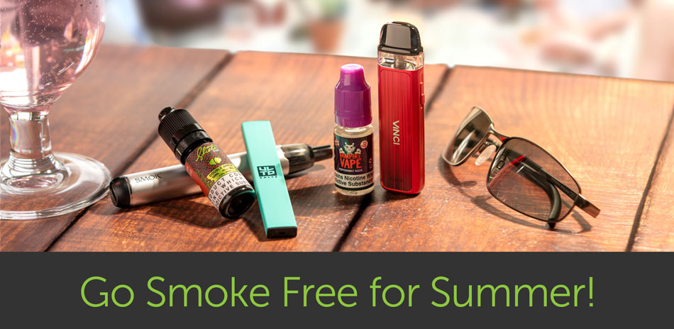 How to go Smoke Free this Summer with Vaping