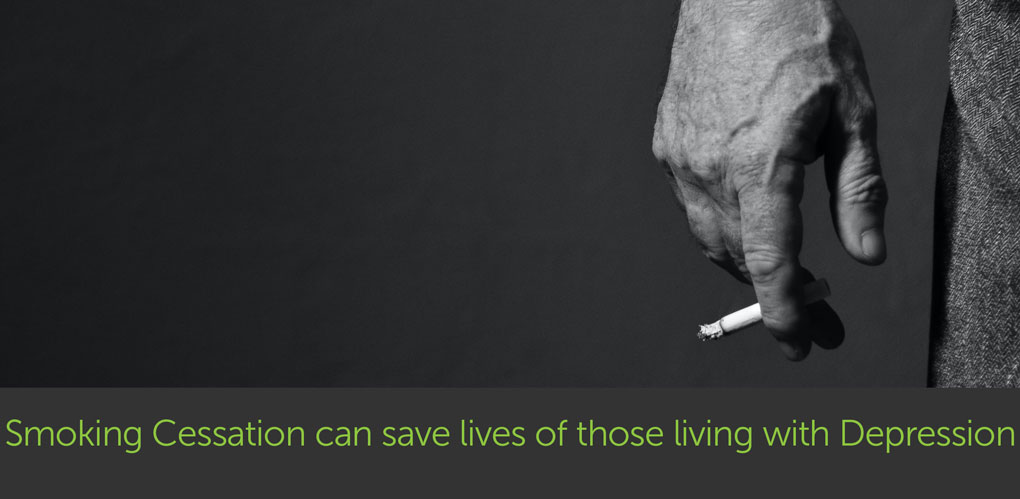 Study: Smoking Cessation can save thousands of lives of those living with Depression
