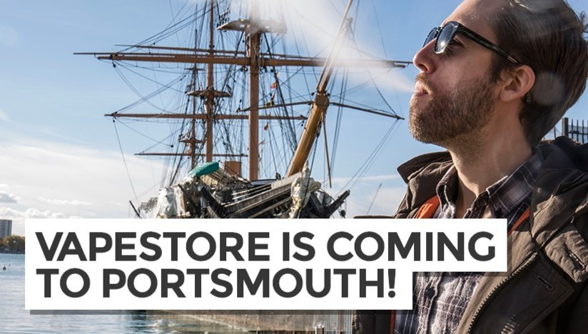 Vapestore is Coming to Portsmouth!