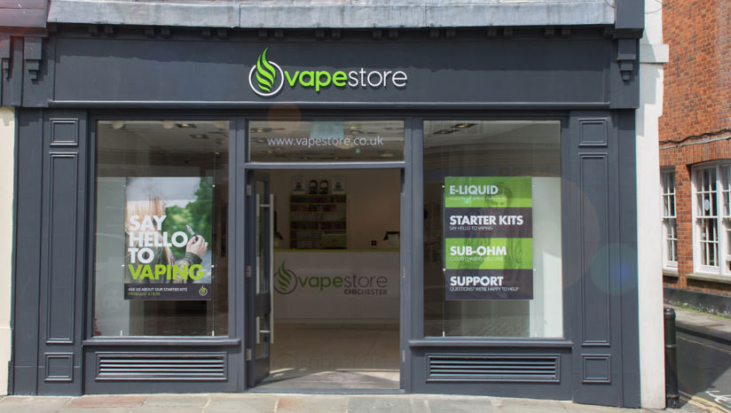 Chichester Vapestore Launch