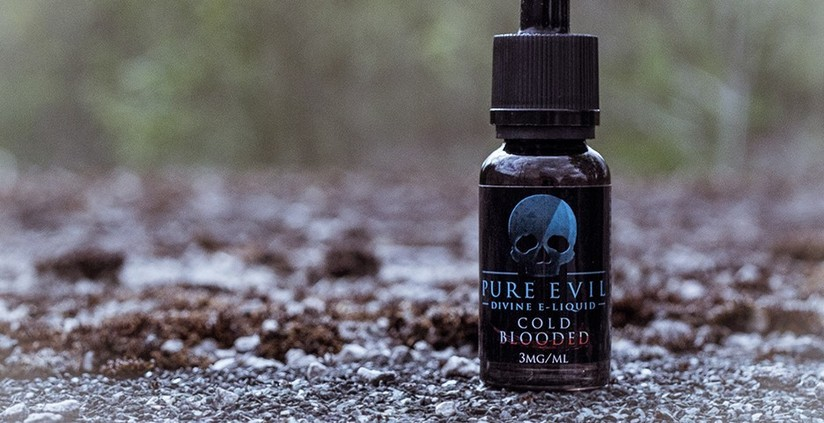 New Pure Evil Cold Blooded E-liquid
