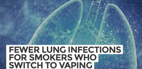 Fewer Lung Infections for Smokers Who Switch to Vaping